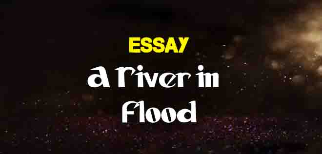 essay on river
