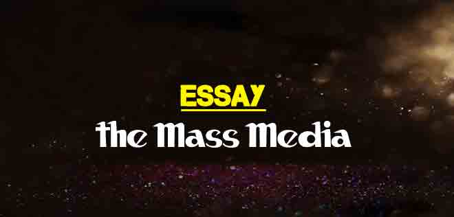 Expository Essay About Education  Essay About Earthquake also Mba Essay Examples Essay On The Mass Media For Students  The College Study Essay On Creativity