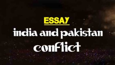 Kashmir Conflict  Long And Short Essay  The College Study Short Essay On India And Pakistan Conflict Essay For English Language also Sample English Essay  Custom Writing Service Number